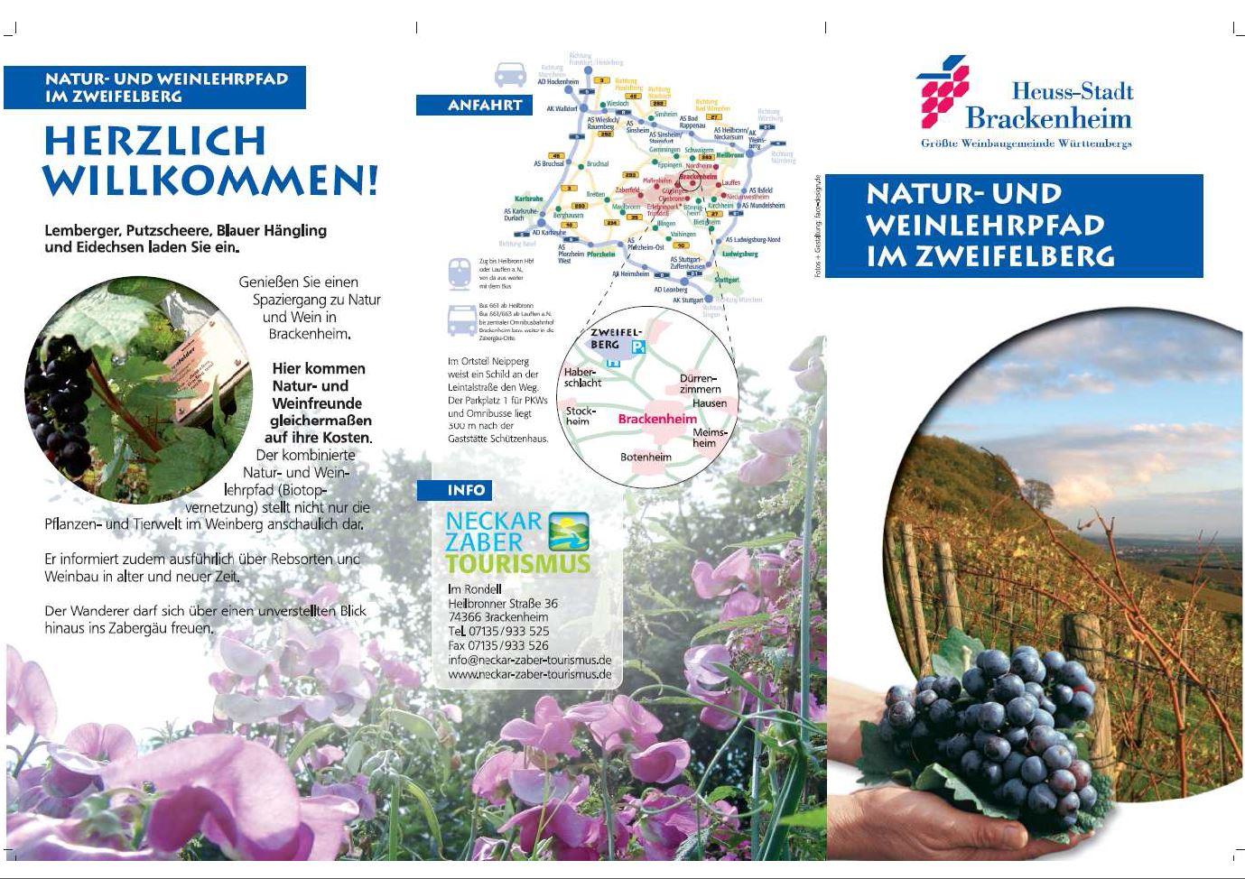 Flyer - Natur- und Weinlehrpfad