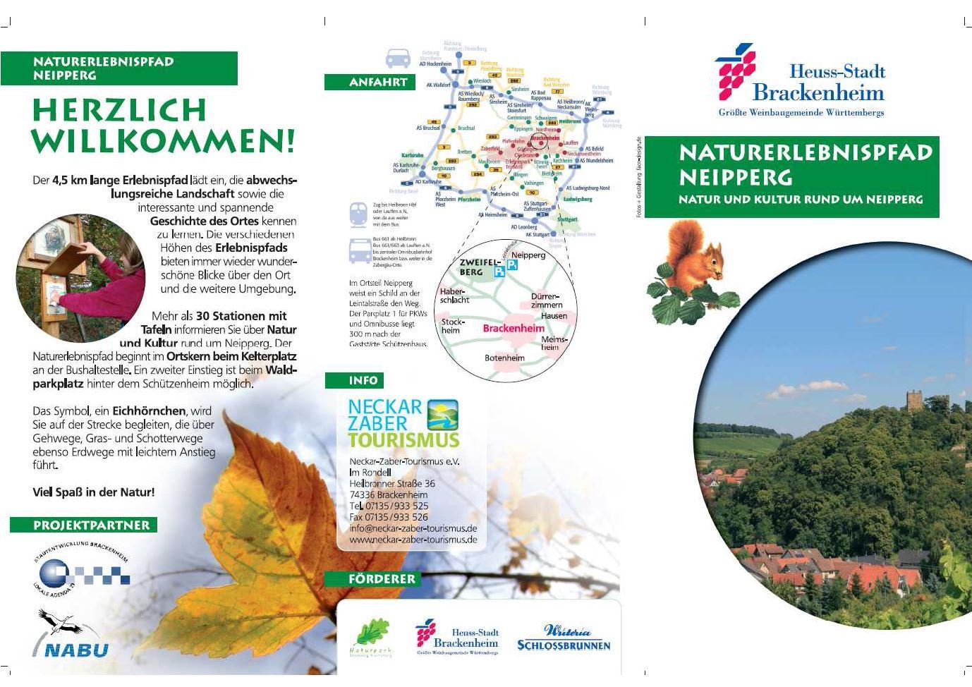 Flyer - Naturerlebnispfad Neipperg