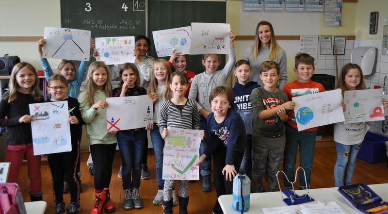 Klasse 3/4 Grundschule Neipperg mit Frau Heiler