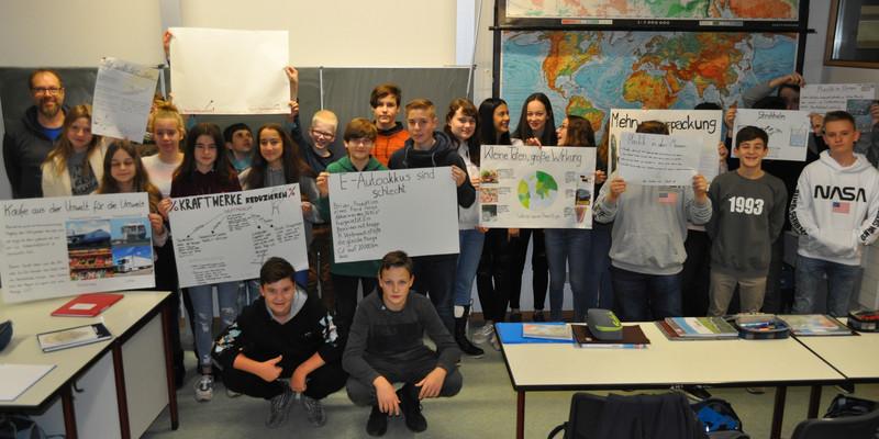 Klasse 8 b Zabergäu-Gymnasium mit Herrn Reif