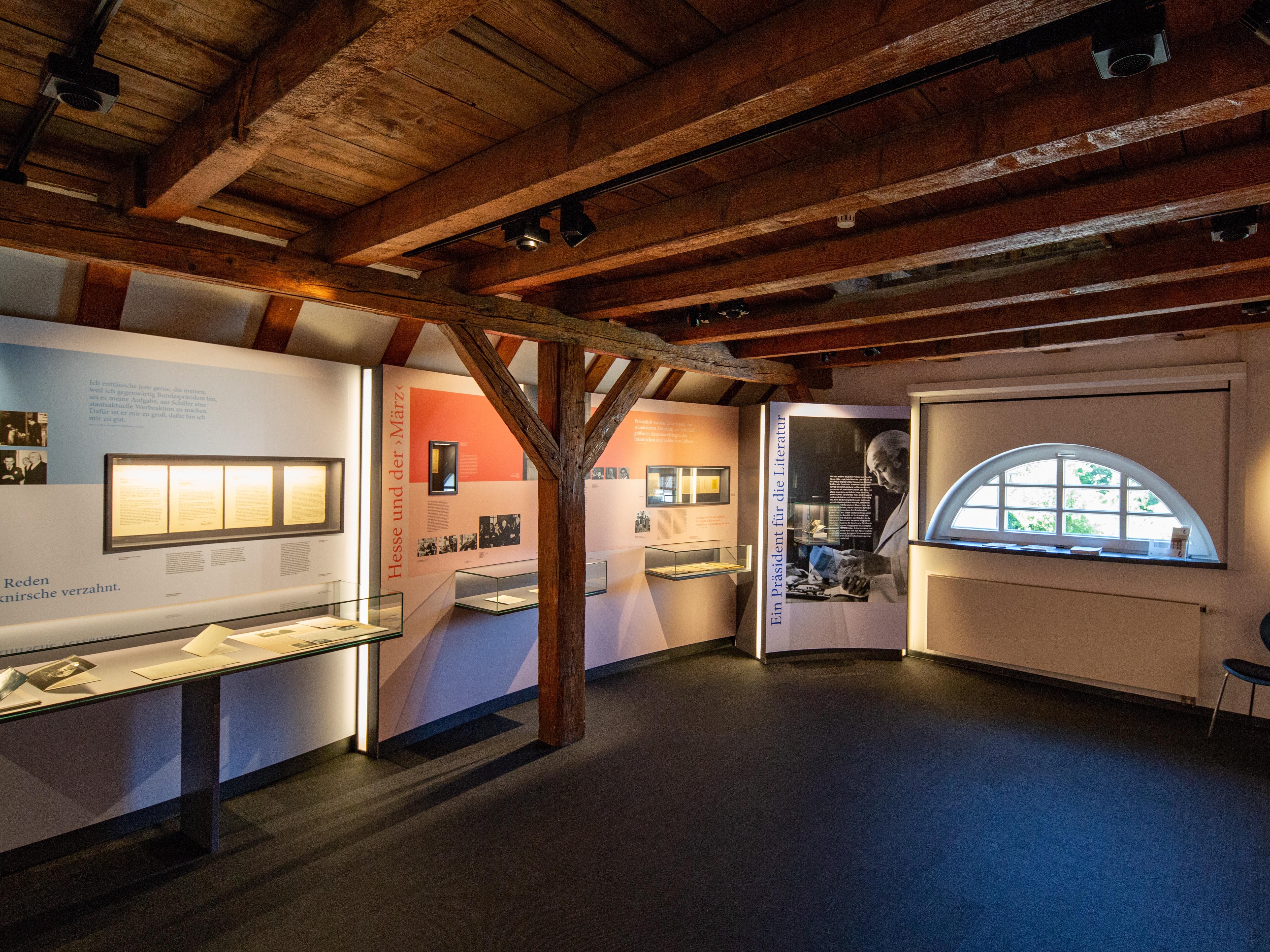 Theodor Heuss Museum von innen
