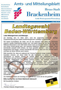 Amts- und Mitteilungsblatt KW10 - 2021