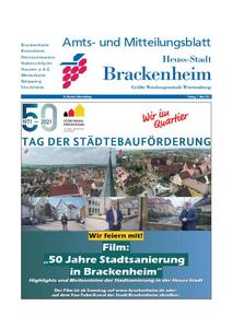 Amts- und Mitteilungsblatt Stadt Brackenheim KW18 - 2021